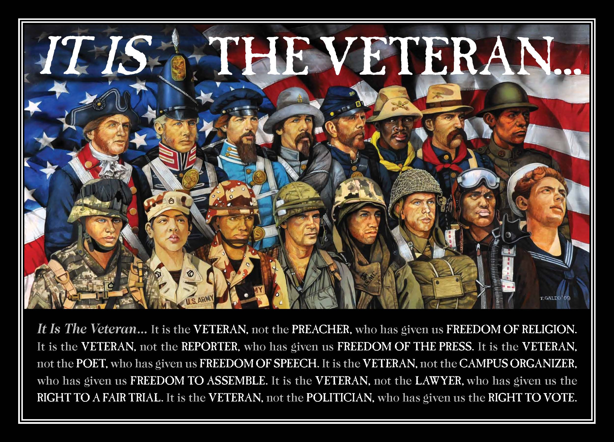 Happy Veterans Day! | Truth, Lies and In Between
