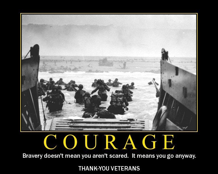 Veteran's Day Courage